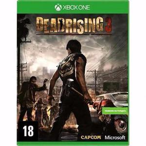 Deadrising 3 em português, para Xbox One, Na Capa