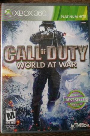 Jogo Call of Duty World at War Original Xbox 360