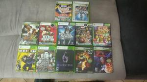 Jogos xbox originais pacote com 11 jogos