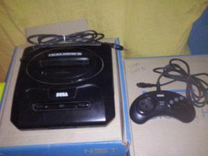 Mega Drive 3 + Adaptador para fita do Master Sisten Aceito