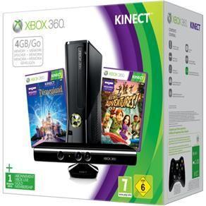 Xbox 360 Slim Controles Kinect 250Gb Jogos O Mais Novo Do