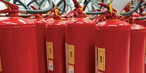 A recarga dos extintores - Av Jabaquara