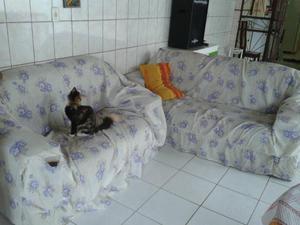 Cama, jogo sofa, armario