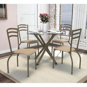 Mesa 4 cadeiras kappesberg