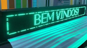 Painel letreiro em LED - configurável