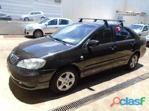Toyota Corolla XEi 1.8 2005 / 2005 Preto Gasolina 4P Manual