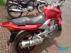 Yamaha Ys 250 fazer 2007 / 2008 Vermelho Gasolina