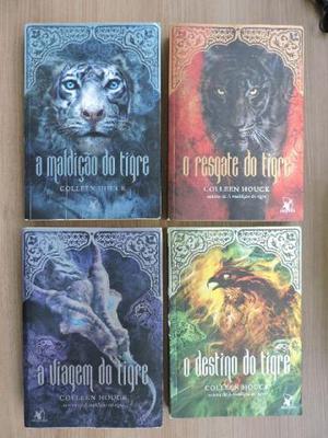 """Coleção """"A Maldição do Tigre"""" - Collen Houk"""