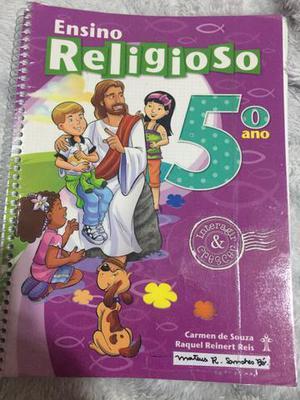 Livro 5 ano - usado Adventista