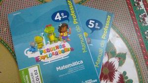 Livros de Matemática 4º e 5º ano