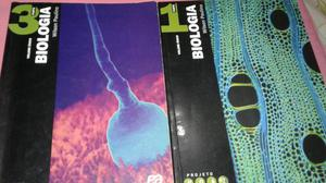 Livros de biologia para ensino médio (Santa Clara)