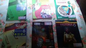 Livros do 6º ano -  cada