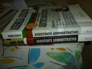 Livros para concursos:assistente administrativo