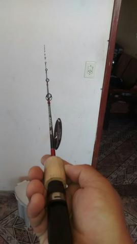 Vara de pesca para carretilha