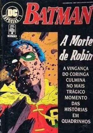Batman A Morte De Robin Dc  Especial Nº 1