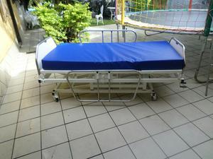 Cama hospitalar 3manivelas e elevação de altura