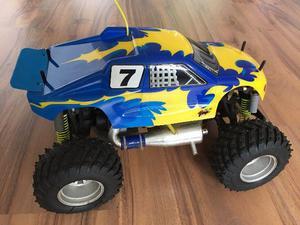 Carro Motor A Explosão Controle Remoto Big Monster Truck