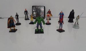 Coleção De Miniaturas Marvel/dc Super Heróis E Vilões