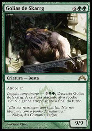 Deck de Bestas verde e vermelho - gruul magic