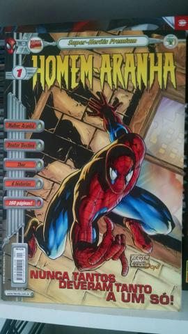 Homem aranha: Super heróis Premium N°1