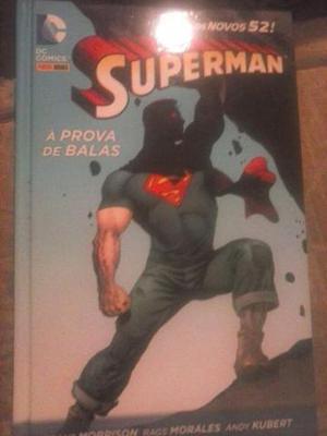Superman A Prova De Balas Encadernado Capa Dura Panini
