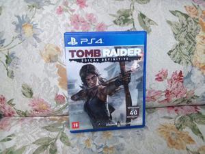 Tomb Raider e The Walking Dead um e dois PS4