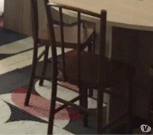 Urgente- Mesa de escritório com 06 cadeiras