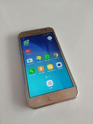 Galaxy J5 Gold 4G Top Estado De Zero Sem Marcas De Uso
