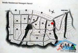 Renoir II - Lote de 2.726m² próximo da portaria!
