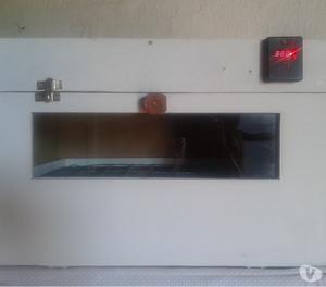 chocadeira semi automatica digital 80 ovos galinha