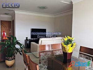 Lindo apartamento Vila Bethania, 107m2, andar alto, decorado
