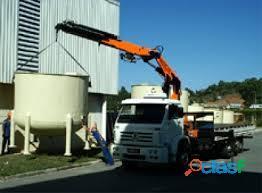 Locação de caminhão munck (051)99542 2499 Poa e região
