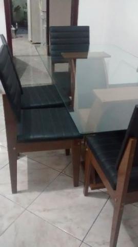 Conjunto de Mesa de Jantar Barcelona 180 com 6 Cadeiras