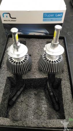 LAMPADAS DE LED H1,H4 E H7 (PAR)