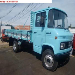 caminhão mb 608 ano 1982 direção