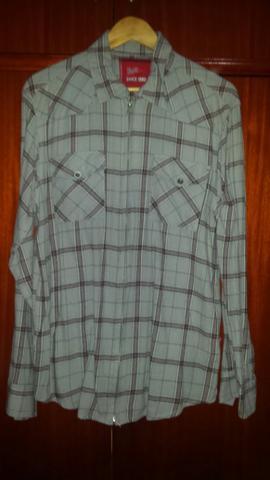 Camisa Xadrez Pool 100% tamanho GG peças