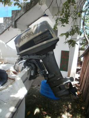 Motor de popa Suzuki 25 HP ano
