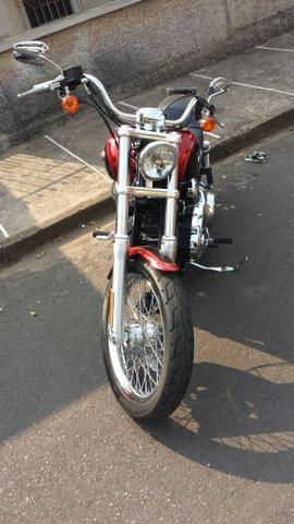 Moto Harley Davidson Dyna Super Glide  - Zera!!!