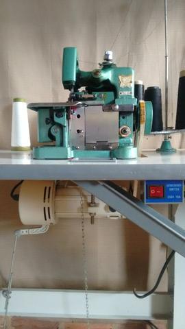 Vendo essa máquina de costura overloque completa
