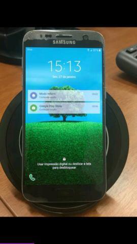 Smartphone Samsung Galaxy S7 Dourado com 32GB, Tela 5.1, 4G,