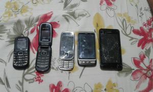 Vende se esses 5 celulares