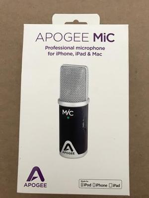 Apogee MiC microfone profissional para iPhone, iPad e Mac