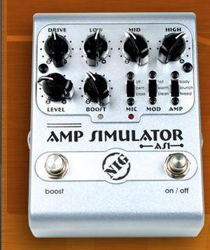 Pedal Amp Simulator Nig AS1