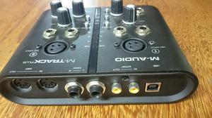 Placa de áudio M-Audio