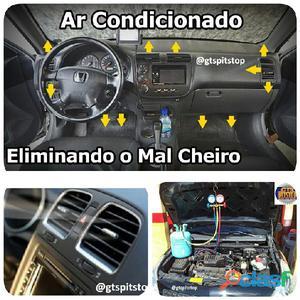 Serviços de Ar Condicionado Automotivos (Manutenção