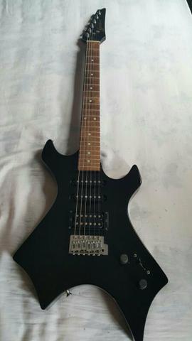 Vendo ou troco guitarra warlock Black Mod