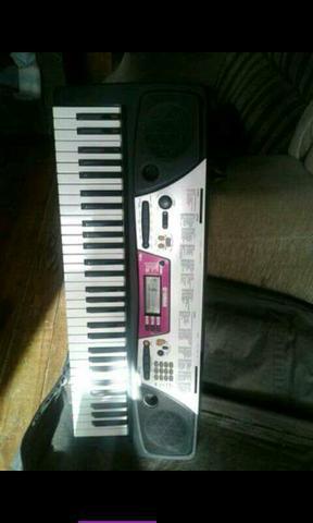 Vendo teclado psr- ou troco por celular