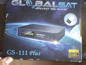 receptor globalsat gs 111 plus hd