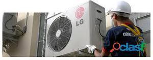 Manutenção preventiva e instalação em aparelhos de ar