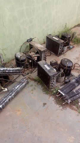 Motor freezer 1hp camara fria estação